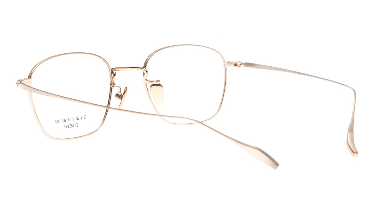 Oh My Glasses TOKYO Alice omg-130 -GR-49 [メタル/鯖江産/ウェリントン/緑]  3