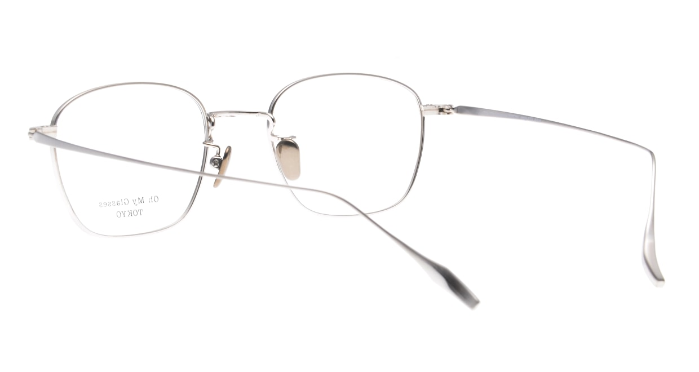 Oh My Glasses TOKYO Alice omg-130 -NV-49 [メタル/鯖江産/ウェリントン/青]  3