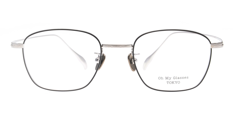 Oh My Glasses TOKYO Alice omg-130 -BKS-49 [メタル/鯖江産/ウェリントン]