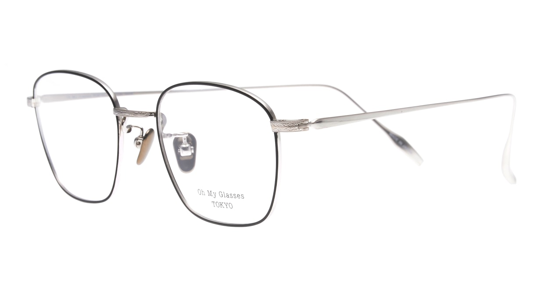 Oh My Glasses TOKYO Alice omg-130 -BKS-49 [メタル/鯖江産/ウェリントン]  1