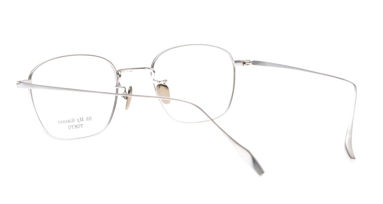 Oh My Glasses TOKYO Alice omg-130 -BKS-49 [メタル/鯖江産/ウェリントン]  3
