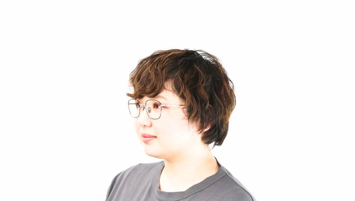 Oh My Glasses TOKYO Alice omg-130 -BKS-49 [メタル/鯖江産/ウェリントン]  8