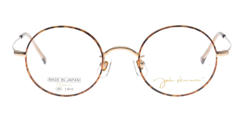 ジョンレノン JL1072 JL1072-GPーBDN-45 [メタル/丸メガネ/べっ甲柄]