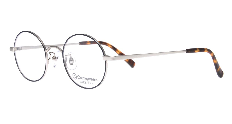 オニメガネ OG7212-BL-46 [メタル/鯖江産/丸メガネ]  1