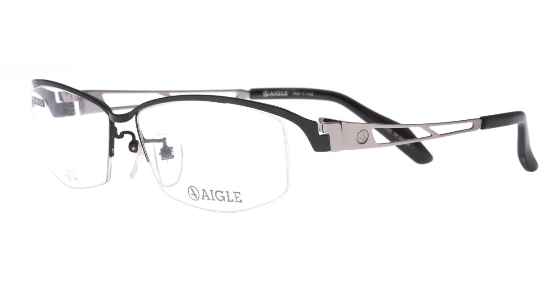 エーグル AG1142-3-60 [メタル/ハーフリム/スクエア]  1