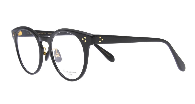 Oh My Glasses TOKYO Nancy omg-131-BK-50 [黒縁/鯖江産/丸メガネ]  1