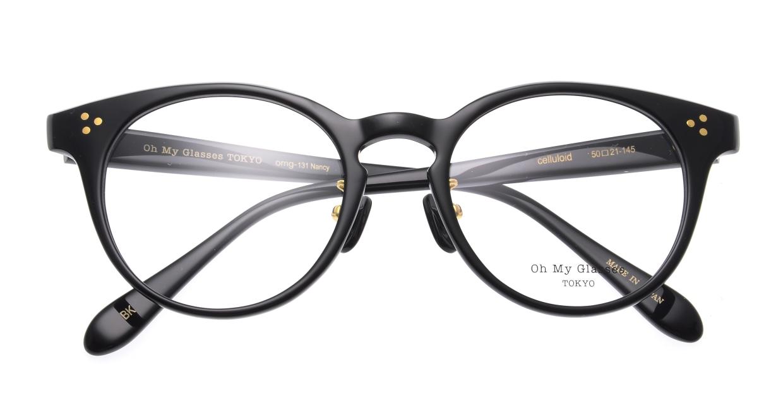 Oh My Glasses TOKYO Nancy omg-131-BK-50 [黒縁/鯖江産/丸メガネ]  4