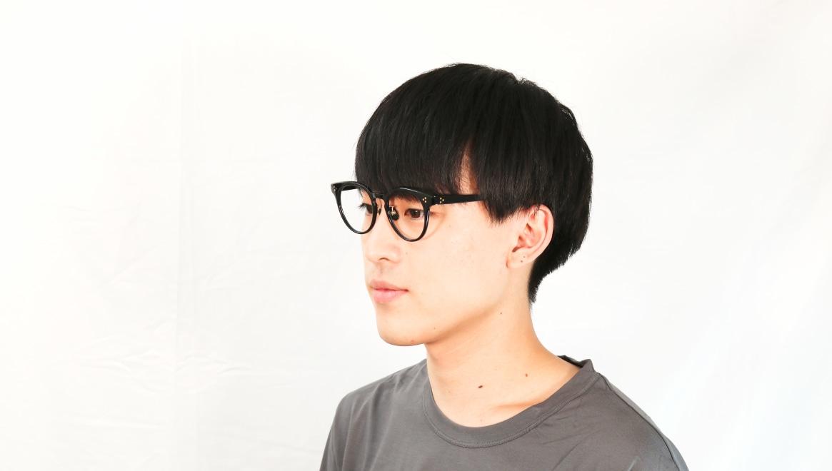 Oh My Glasses TOKYO Nancy omg-131-BK-50 [黒縁/鯖江産/丸メガネ]  6