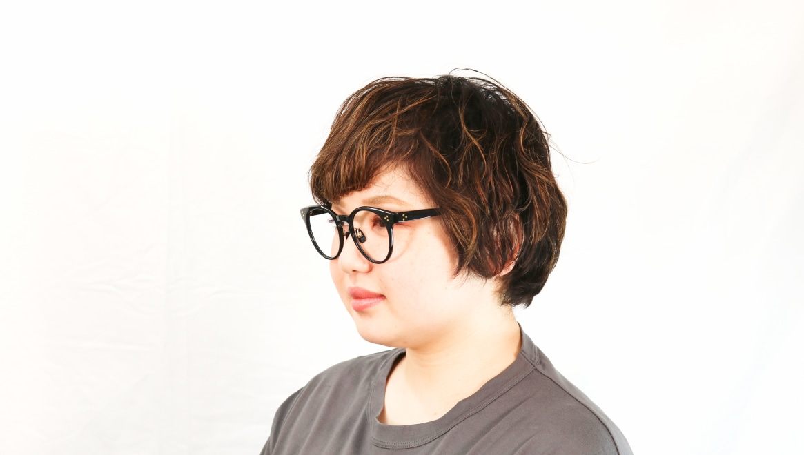 Oh My Glasses TOKYO Nancy omg-131-BK-50 [黒縁/鯖江産/丸メガネ]  8
