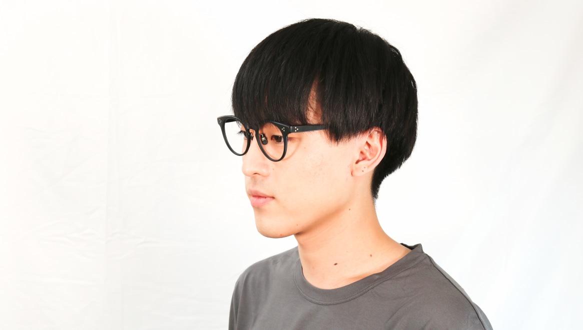 Oh My Glasses TOKYO Nancy omg-131-MBK-50 [黒縁/鯖江産/丸メガネ]  6