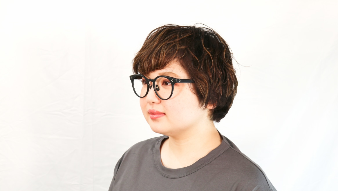 Oh My Glasses TOKYO Nancy omg-131-MBK-50 [黒縁/鯖江産/丸メガネ]  8