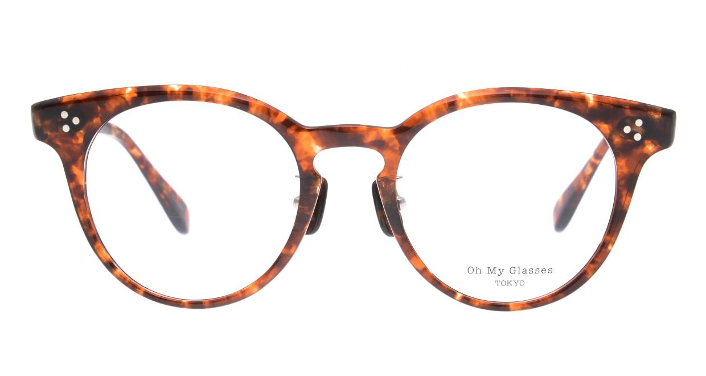 Oh My Glasses TOKYO Nancy omg-131-BRD-50 [鯖江産/丸メガネ/べっ甲柄]