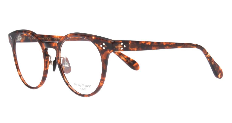 Oh My Glasses TOKYO Nancy omg-131-BRD-50 [鯖江産/丸メガネ/べっ甲柄]  1