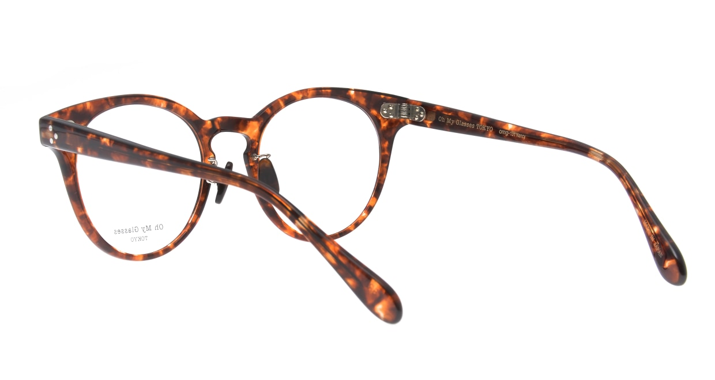 Oh My Glasses TOKYO Nancy omg-131-BRD-50 [鯖江産/丸メガネ/べっ甲柄]  3