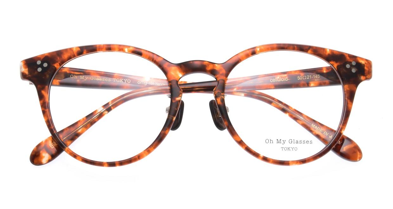 Oh My Glasses TOKYO Nancy omg-131-BRD-50 [鯖江産/丸メガネ/べっ甲柄]  4