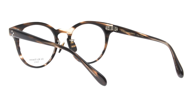 Oh My Glasses TOKYO Nancy omg-131-BRS-50 [鯖江産/丸メガネ/茶色]  3