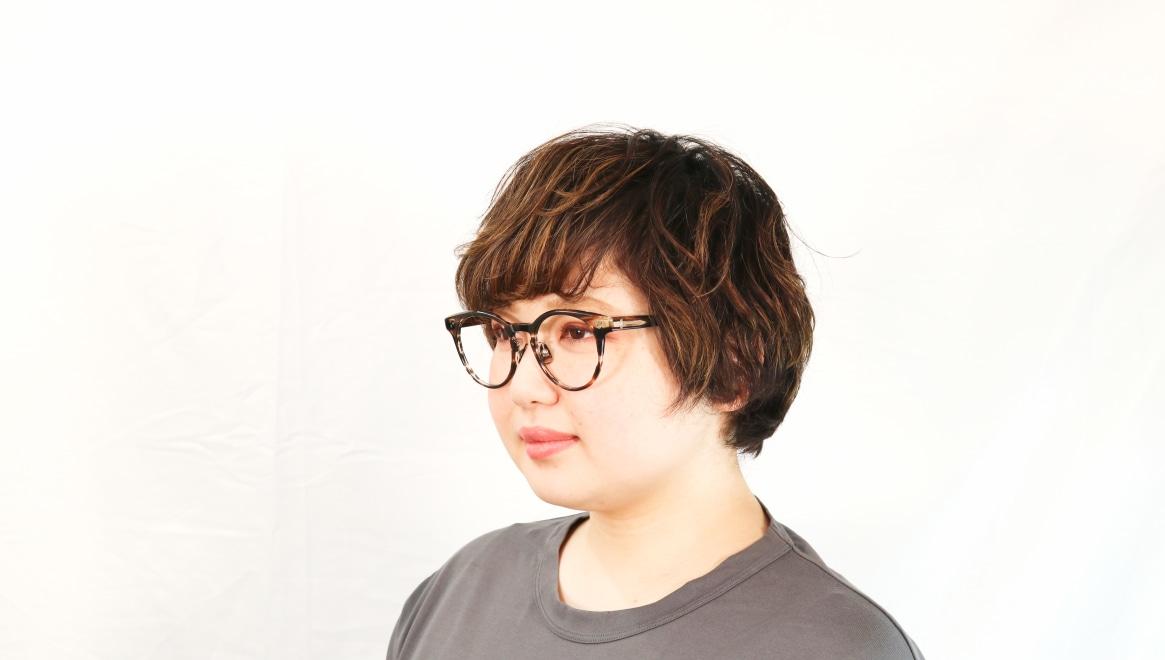Oh My Glasses TOKYO Nancy omg-131-BRS-50 [鯖江産/丸メガネ/茶色]  8