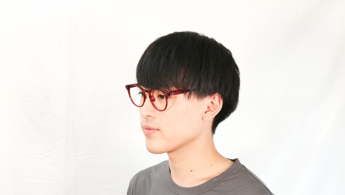 Oh My Glasses TOKYO Nancy omg-131-BDX-50 [鯖江産/丸メガネ/赤]  6