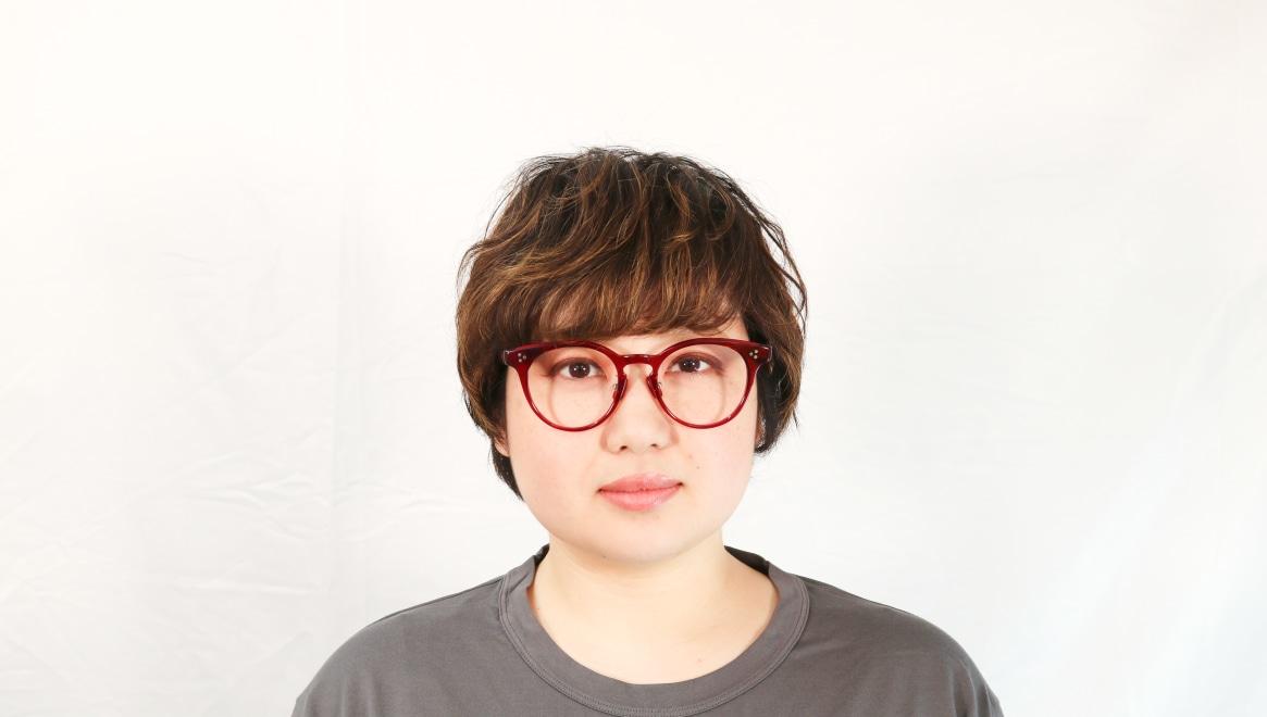 Oh My Glasses TOKYO Nancy omg-131-BDX-50 [鯖江産/丸メガネ/赤]  7