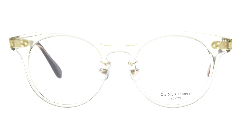 Oh My Glasses TOKYO Nancy omg-131-CLR-50 [鯖江産/丸メガネ/透明]