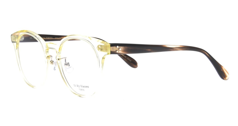 Oh My Glasses TOKYO Nancy omg-131-CLR-50 [鯖江産/丸メガネ/透明]  1