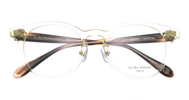 Oh My Glasses TOKYO Nancy omg-131-CLR-50 [鯖江産/丸メガネ/透明]  4