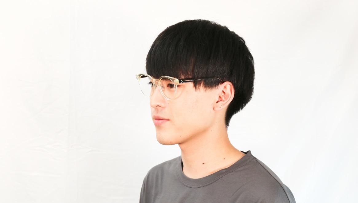 Oh My Glasses TOKYO Nancy omg-131-CLR-50 [鯖江産/丸メガネ/透明]  6