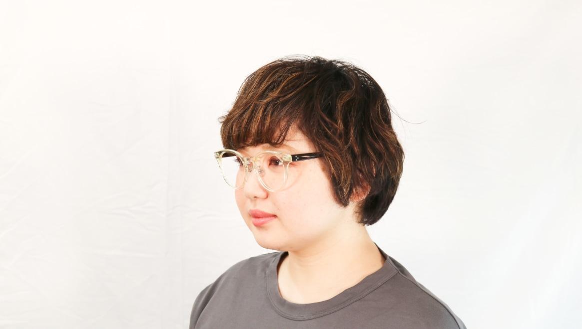 Oh My Glasses TOKYO Nancy omg-131-CLR-50 [鯖江産/丸メガネ/透明]  8