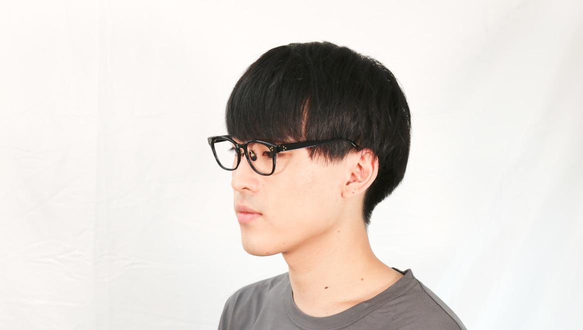 Oh My Glasses TOKYO Andrew omg-132-BK-51 [黒縁/鯖江産/ウェリントン]  6