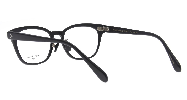 Oh My Glasses TOKYO Andrew omg-132-MBK-51 [黒縁/鯖江産/ウェリントン]  3