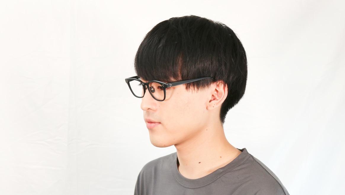 Oh My Glasses TOKYO Andrew omg-132-MBK-51 [黒縁/鯖江産/ウェリントン]  6