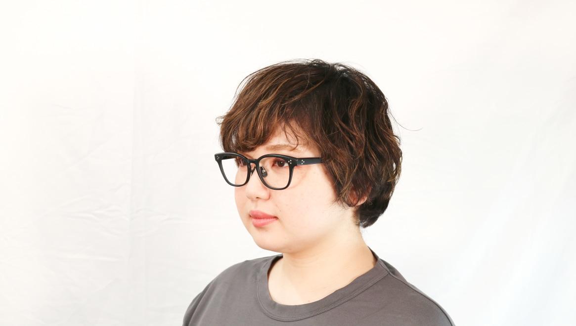 Oh My Glasses TOKYO Andrew omg-132-MBK-51 [黒縁/鯖江産/ウェリントン]  8