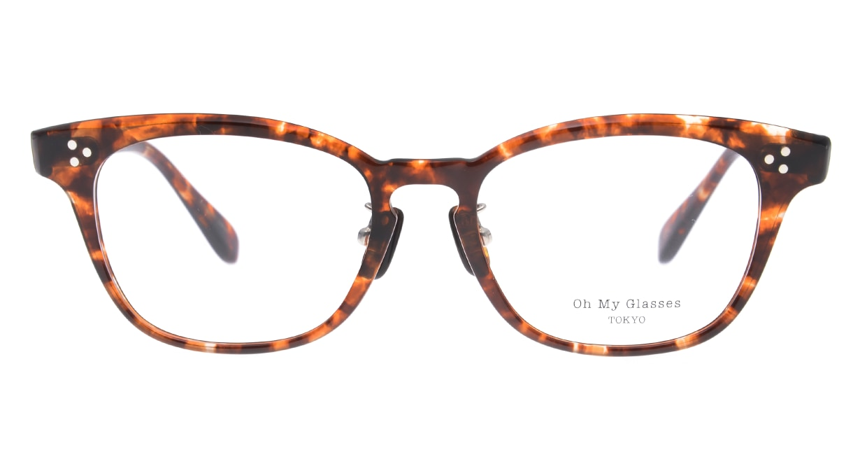 Oh My Glasses TOKYO Andrew omg-132-BRD-51 [鯖江産/ウェリントン/べっ甲柄]