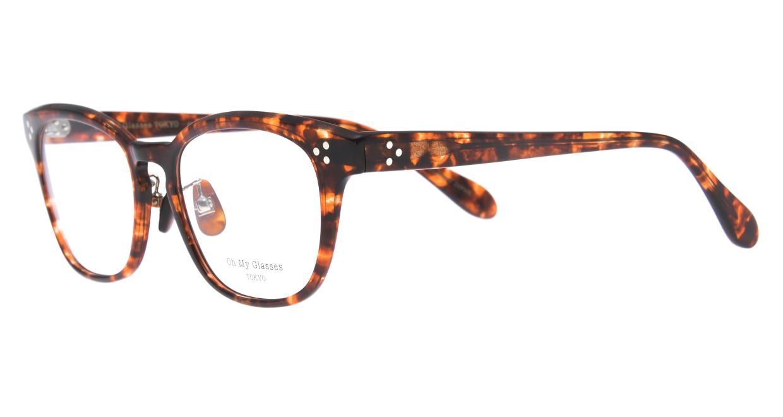 Oh My Glasses TOKYO Andrew omg-132-BRD-51 [鯖江産/ウェリントン/べっ甲柄]  1