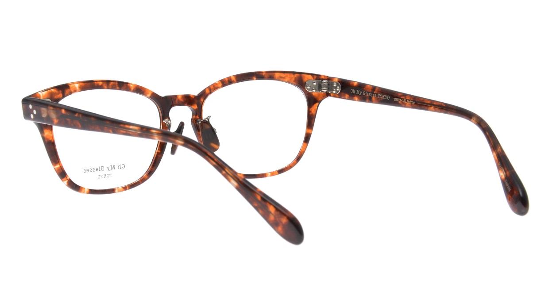 Oh My Glasses TOKYO Andrew omg-132-BRD-51 [鯖江産/ウェリントン/べっ甲柄]  3