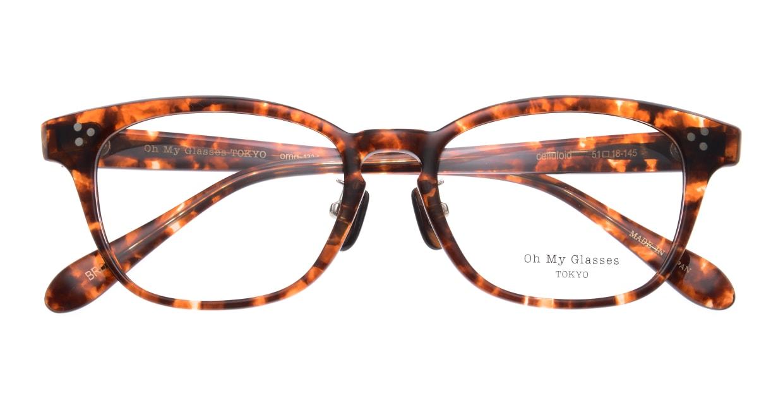 Oh My Glasses TOKYO Andrew omg-132-BRD-51 [鯖江産/ウェリントン/べっ甲柄]  4