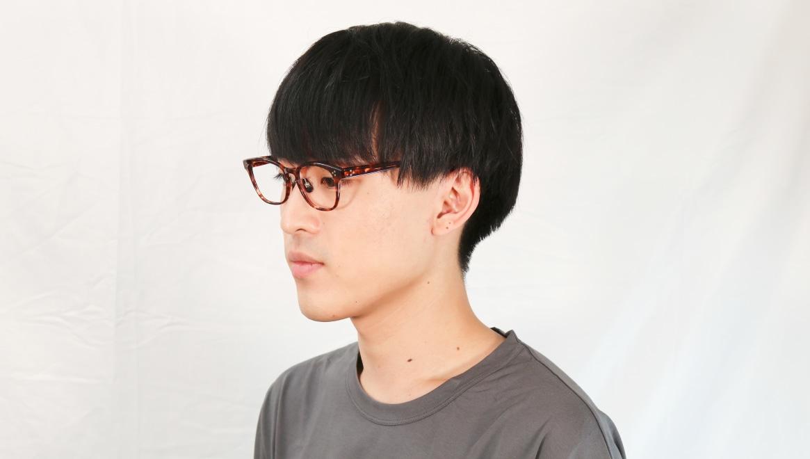 Oh My Glasses TOKYO Andrew omg-132-BRD-51 [鯖江産/ウェリントン/べっ甲柄]  6