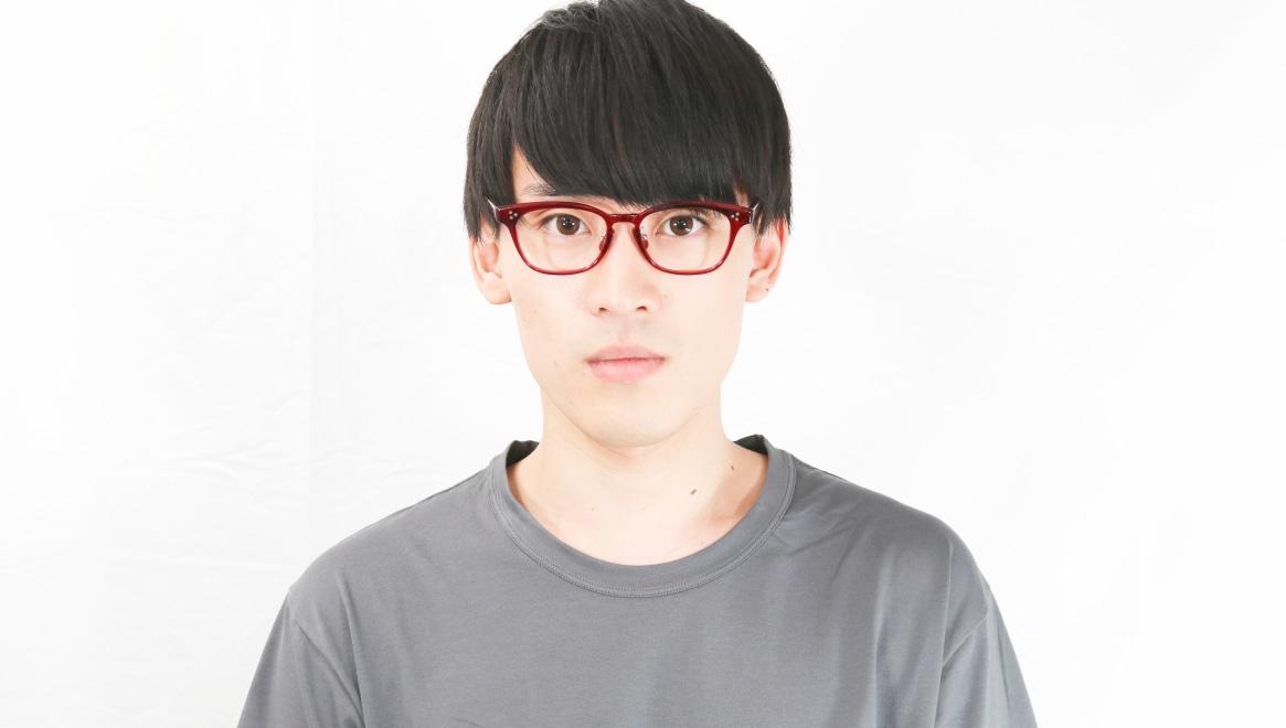 Oh My Glasses TOKYO Andrew omg-132-BDX-51 [鯖江産/ウェリントン/赤]  5