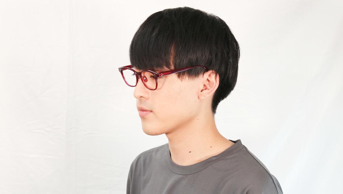 Oh My Glasses TOKYO Andrew omg-132-BDX-51 [鯖江産/ウェリントン/赤]  6