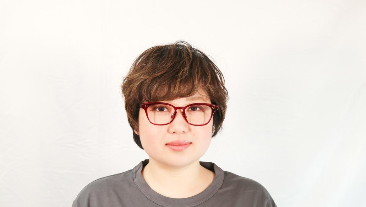 Oh My Glasses TOKYO Andrew omg-132-BDX-51 [鯖江産/ウェリントン/赤]  7