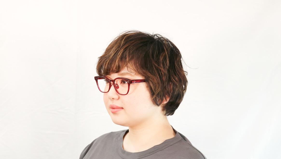 Oh My Glasses TOKYO Andrew omg-132-BDX-51 [鯖江産/ウェリントン/赤]  8