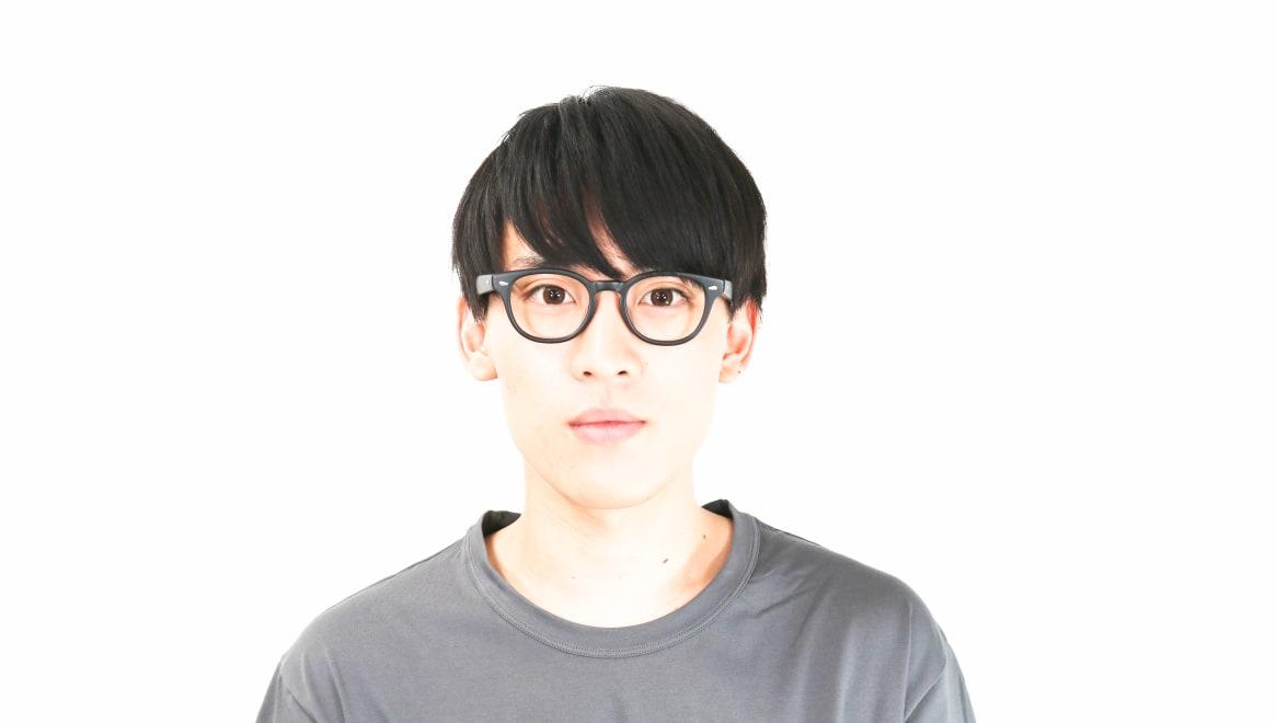 Oh My Glasses TOKYO Lucas omg-070-MBK-48 [黒縁/鯖江産/ウェリントン]  5