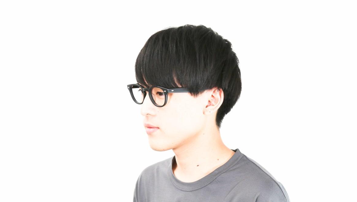 Oh My Glasses TOKYO Lucas omg-070-MBK-48 [黒縁/鯖江産/ウェリントン]  6