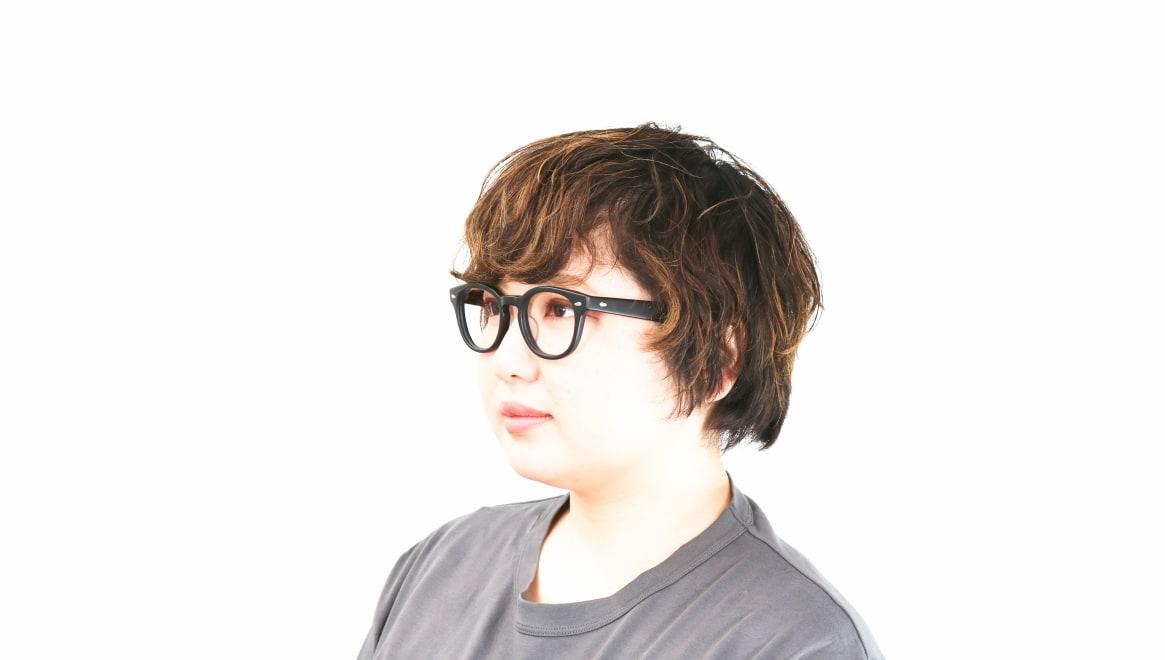 Oh My Glasses TOKYO Lucas omg-070-MBK-48 [黒縁/鯖江産/ウェリントン]  8