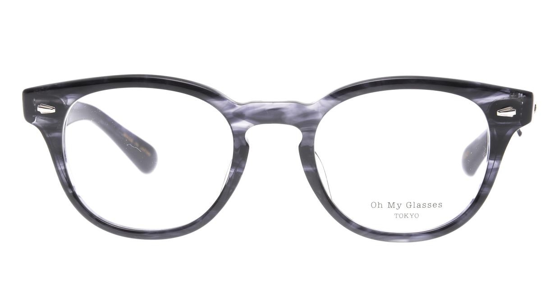 Oh My Glasses TOKYO Lucas omg-070-GRY-48 [鯖江産/ウェリントン/グレー]