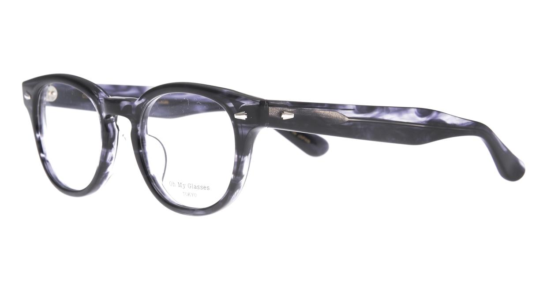 Oh My Glasses TOKYO Lucas omg-070-GRY-48 [鯖江産/ウェリントン/グレー]  1