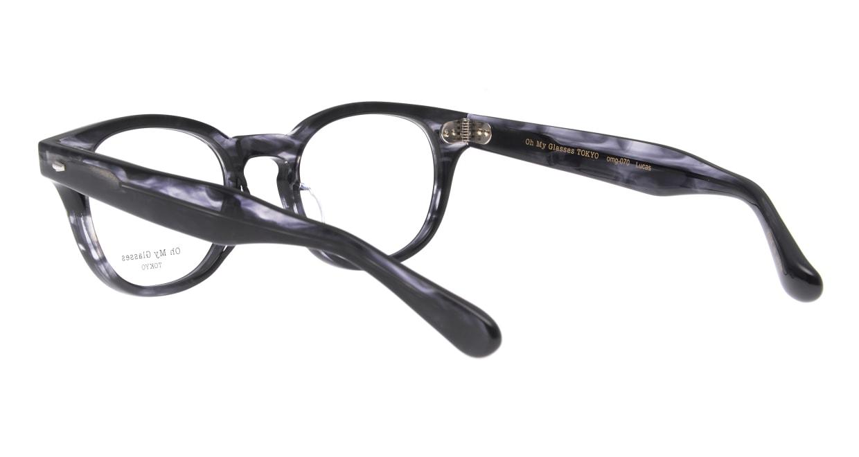 Oh My Glasses TOKYO Lucas omg-070-GRY-48 [鯖江産/ウェリントン/グレー]  3