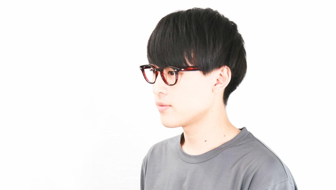 Oh My Glasses TOKYO Lucas omg-070-RD-48 [鯖江産/ウェリントン/赤]  6