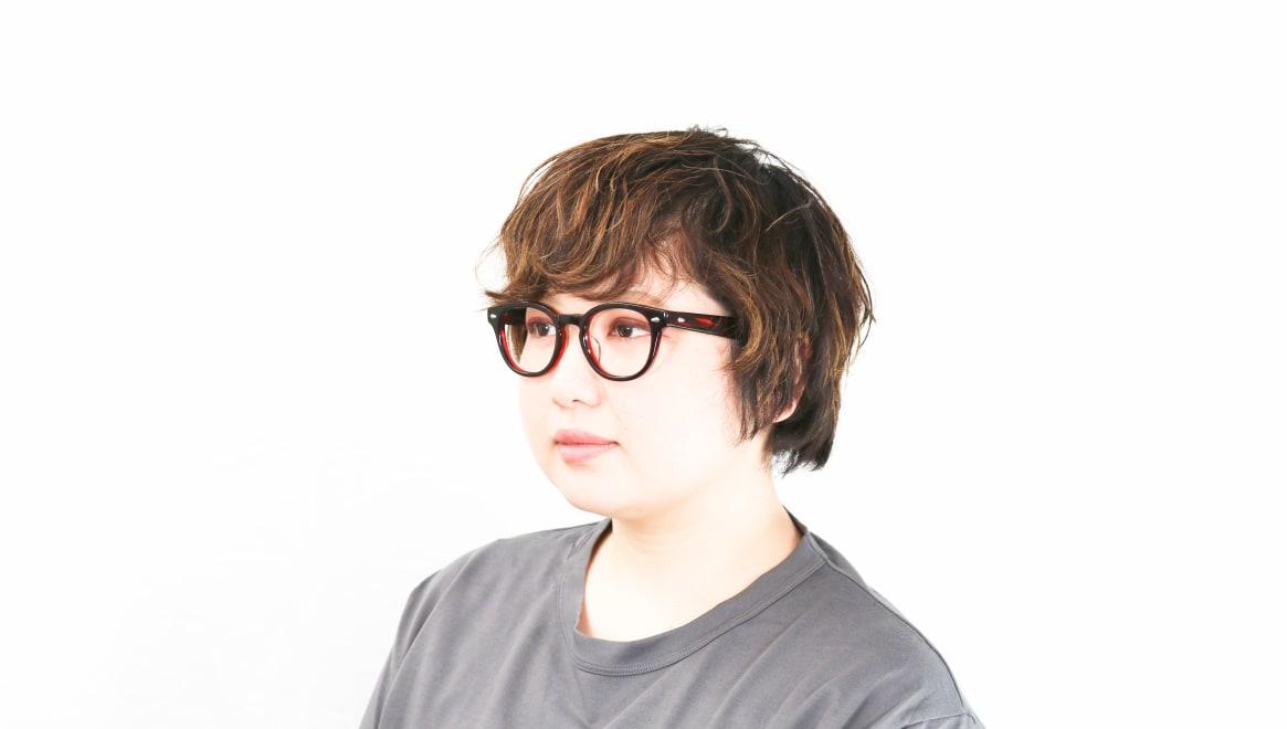 Oh My Glasses TOKYO Lucas omg-070-RD-48 [鯖江産/ウェリントン/赤]  8