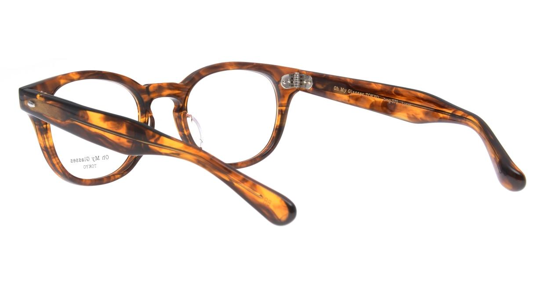 Oh My Glasses TOKYO Lucas omg-070-BR-48 [鯖江産/ウェリントン/茶色]  3